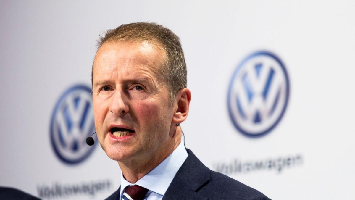 Herbert Diess, PDG Volkswagen