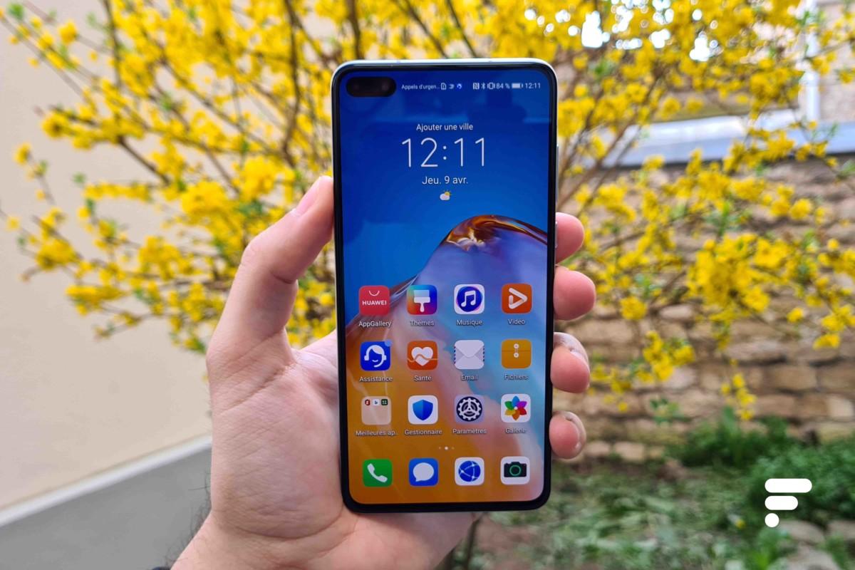 Le Huawei P40 est un smartphone très autonome