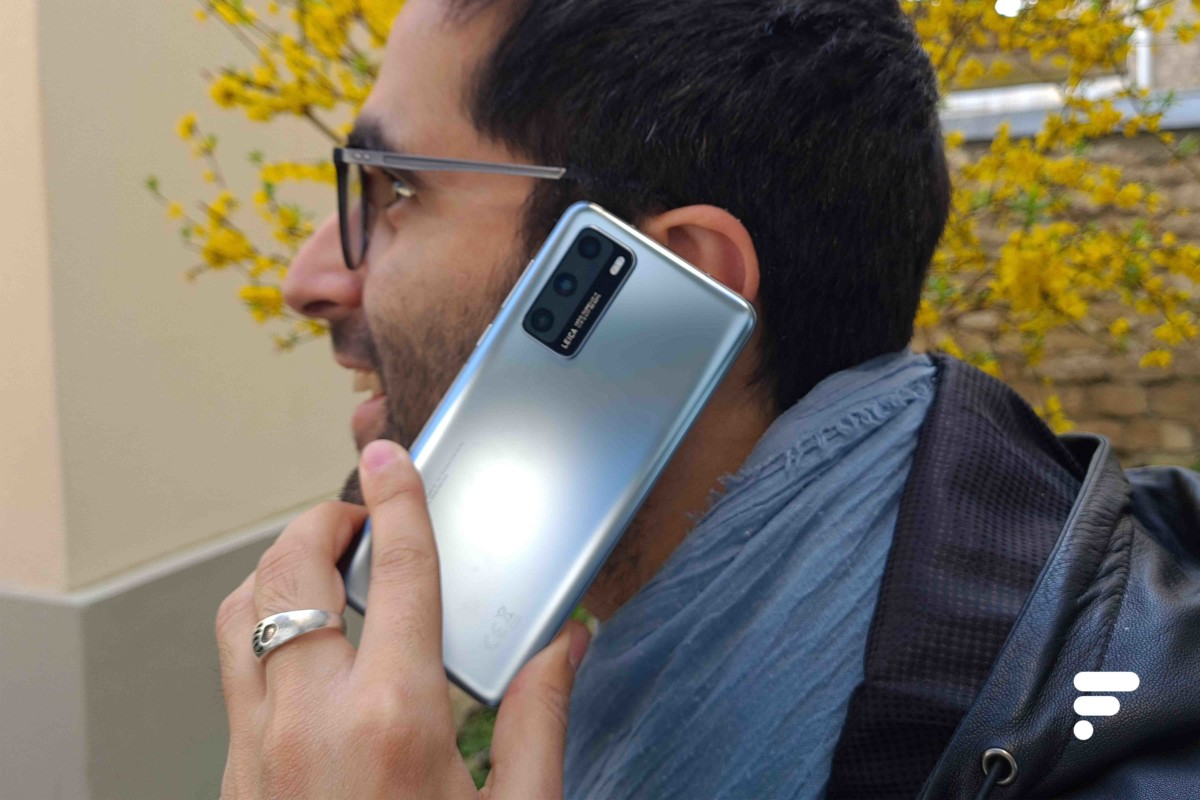 Bonne qualité d'appel sur le Huawei P40