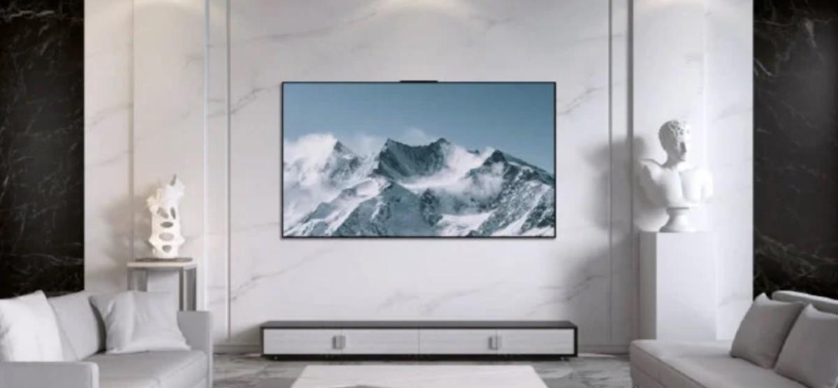 Huawei a présenté ce 8avril son premier téléviseur OLED Vision Smart TVX65