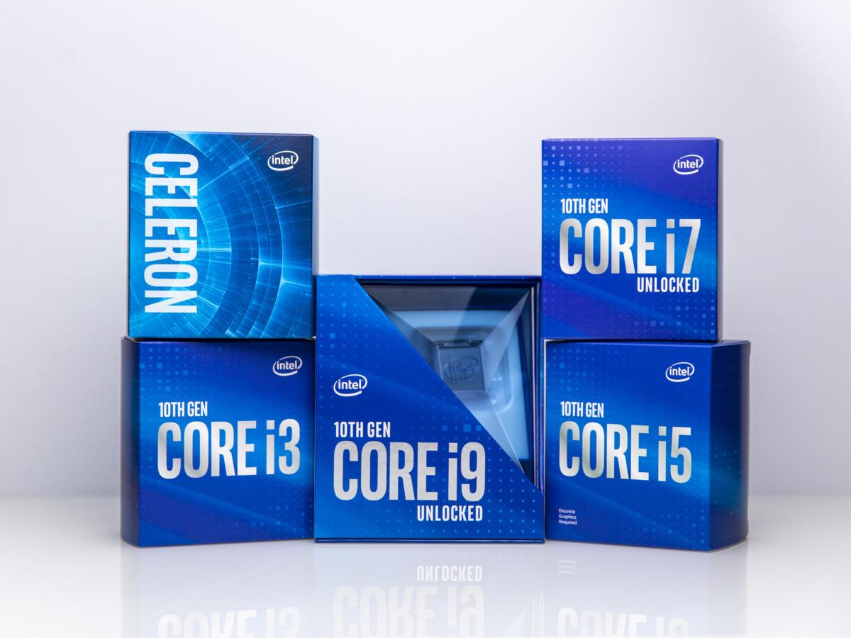 Toujours basés sur la gravure en 14 nm, les nouveaux processeurs de bureau d'Intel s'en sortent avec les honneurs…