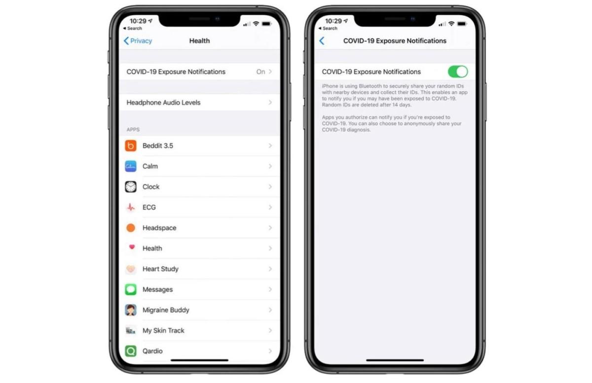 Avec iOS 13.5, l'iPhone s'adapte aux porteurs de masques