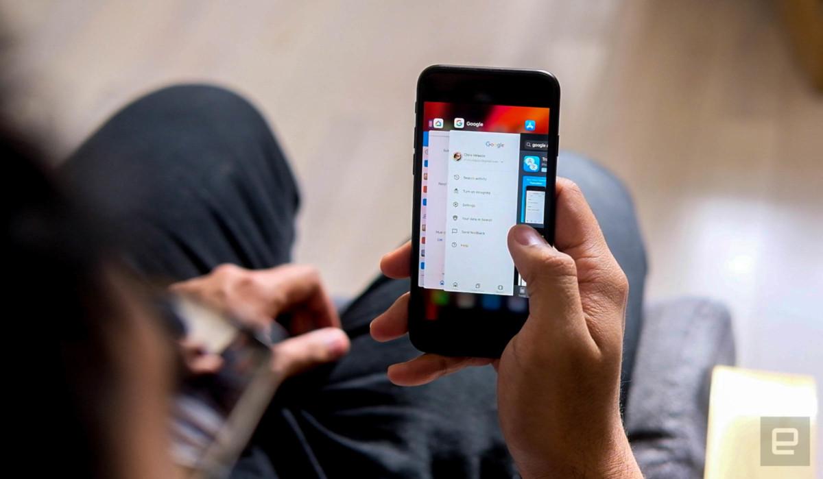 Aucun problème pour le multitâche avec l'iPhone SE 2020