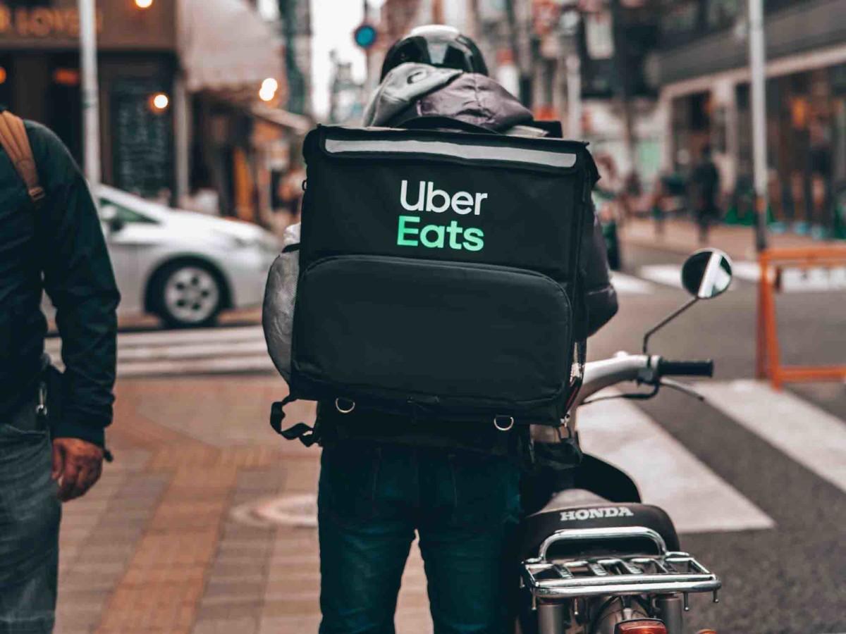 Livreur Uber Eats