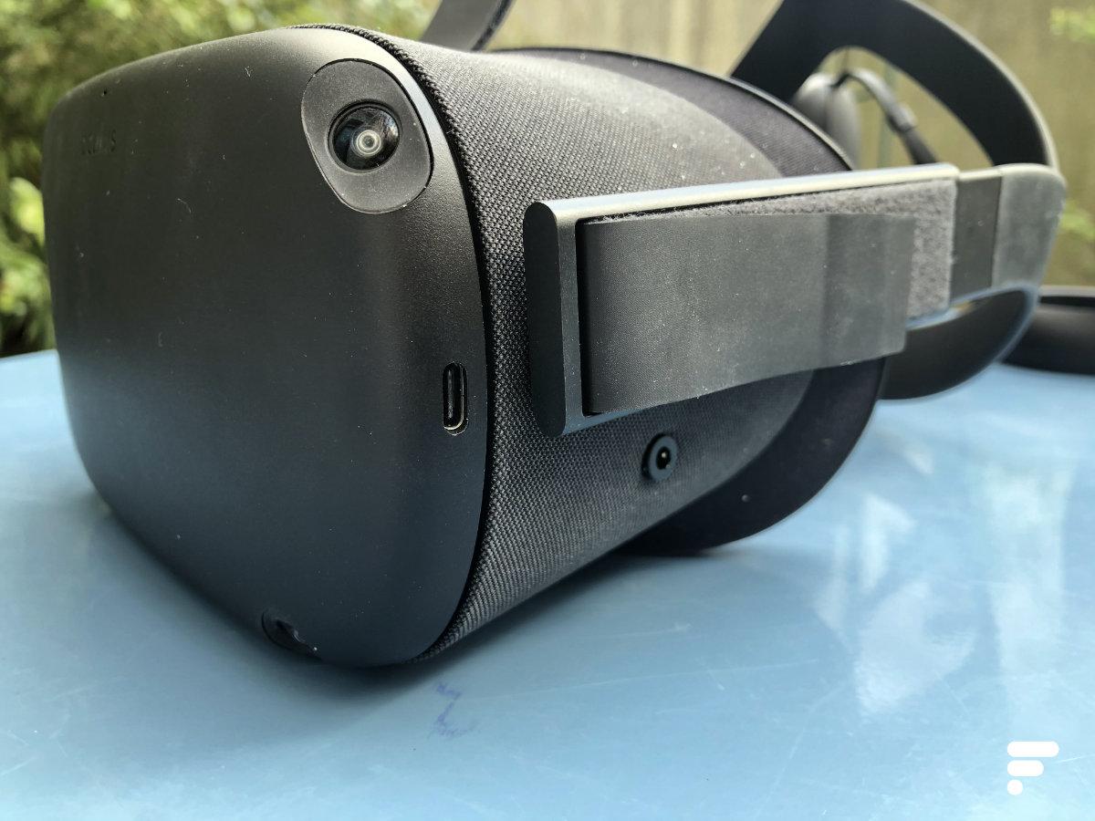 Le port USB-C de l'Oculus Quest