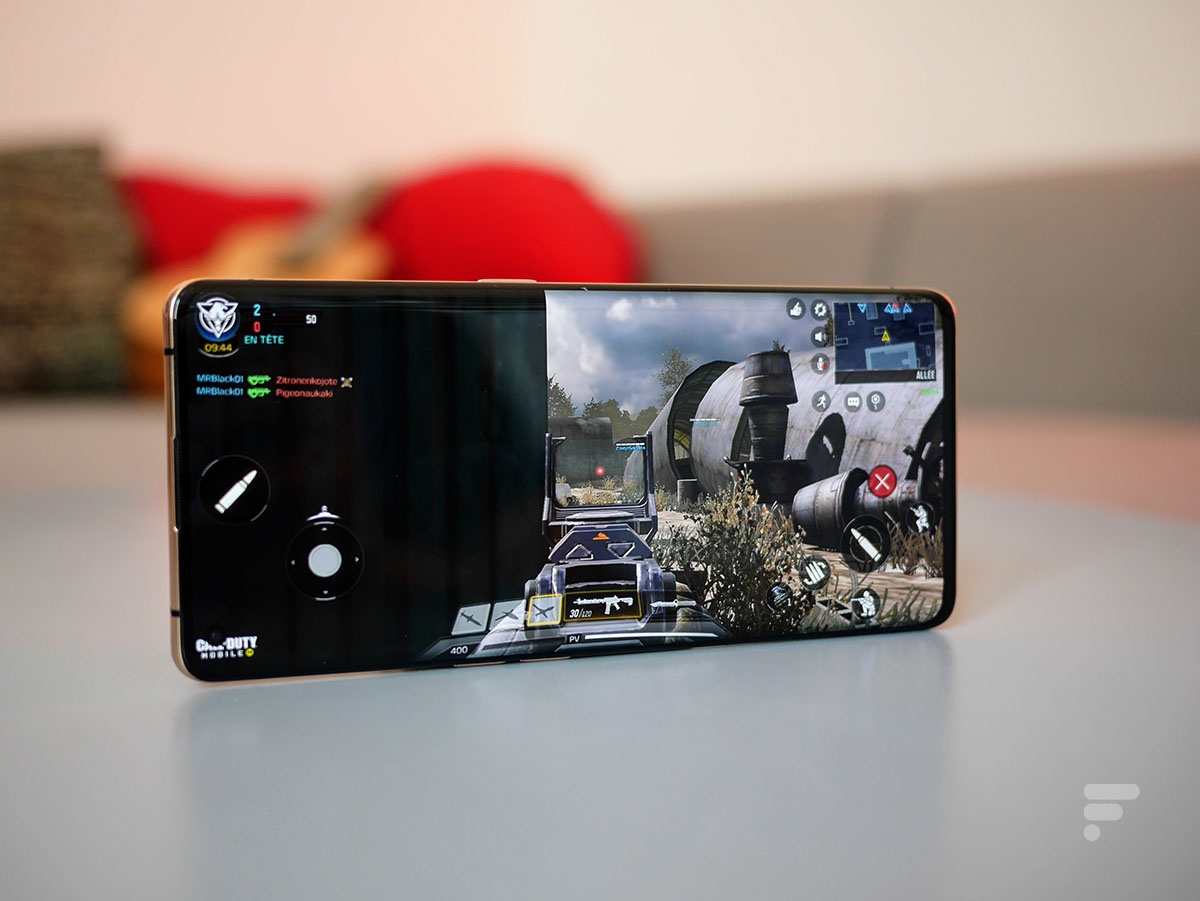 Call of Duty Mobile sur l'Oppo Find X2 Pro