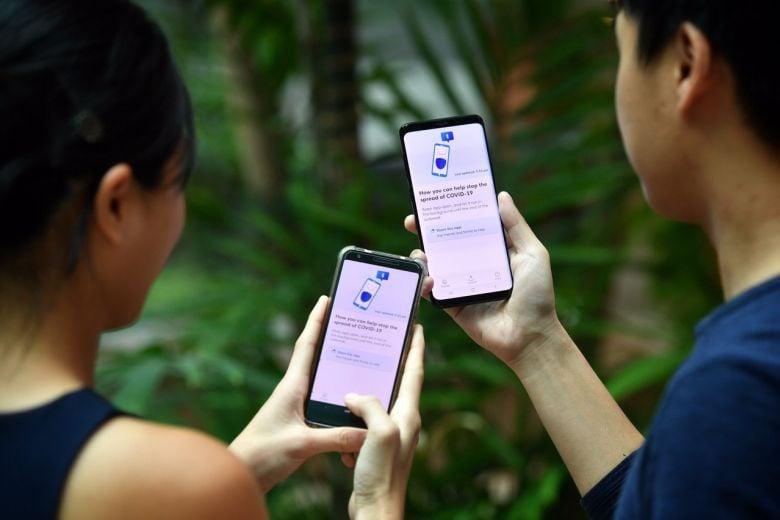 L'application TraceTogether utilisée à Singapour
