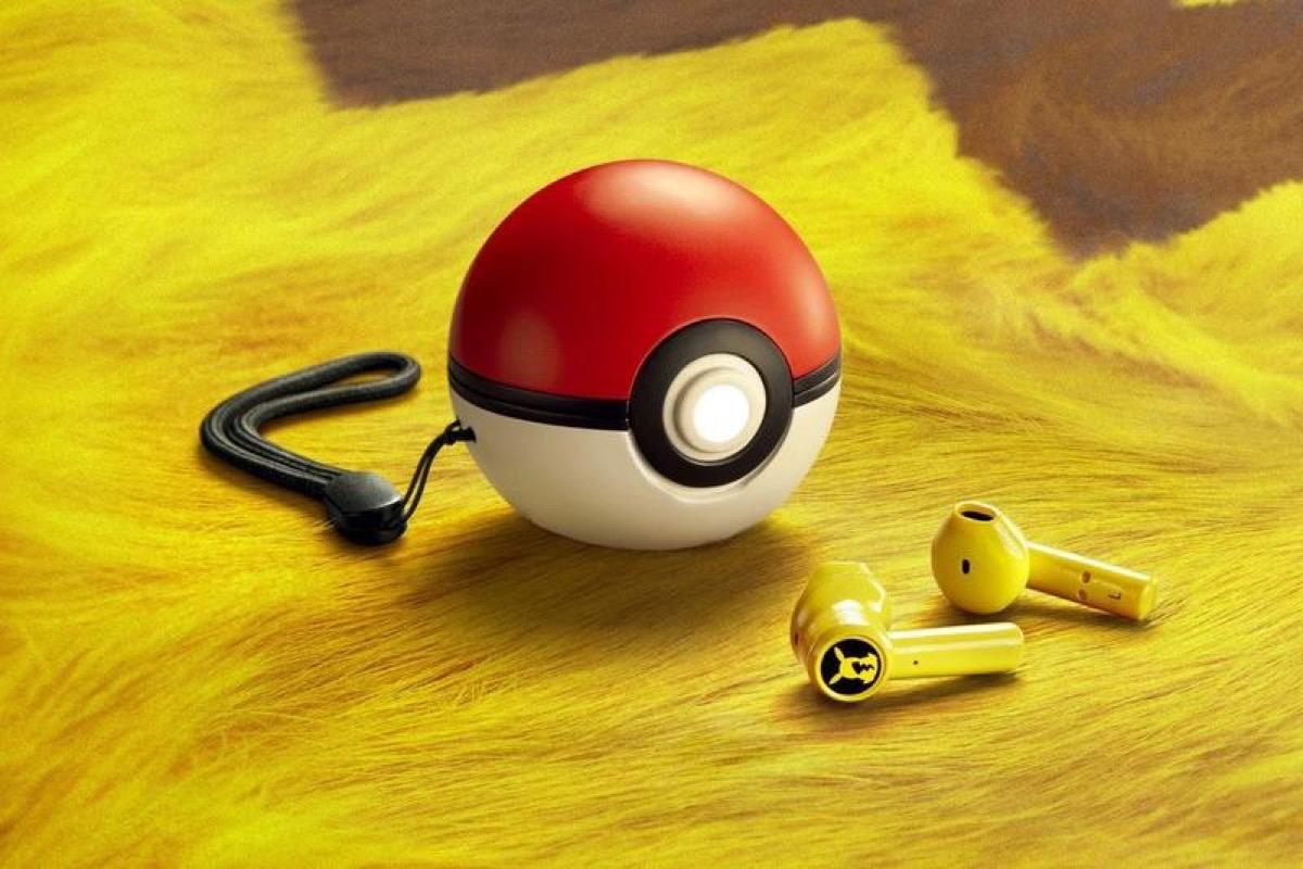 pikachu ecouteurs sans fil