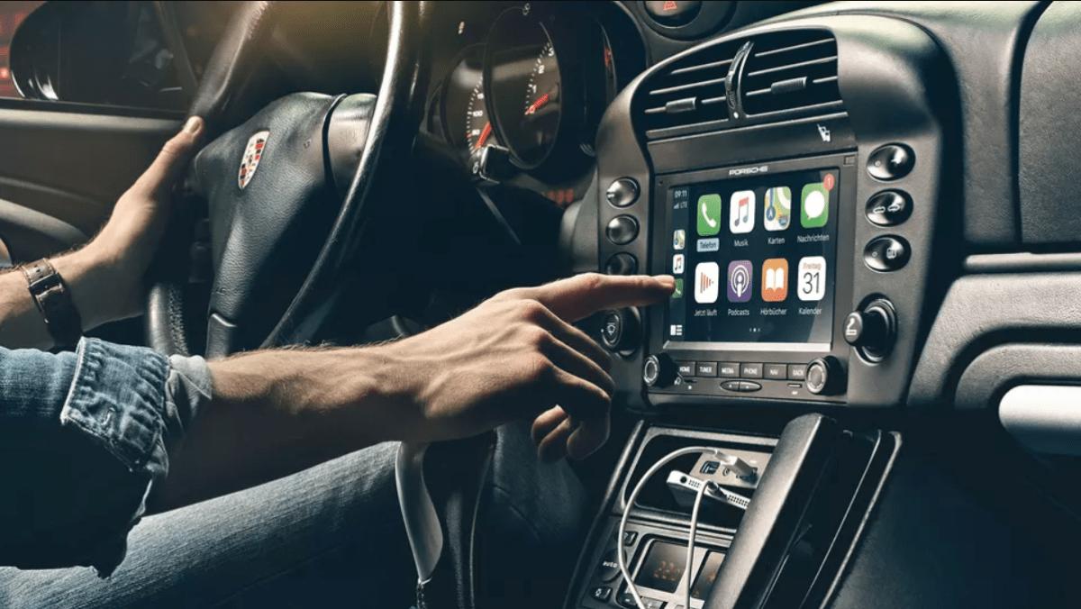 Porsche système multimédia embarqué