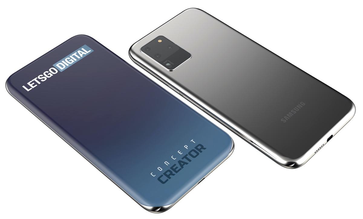 Brevet d'écran Samsung Galaxy