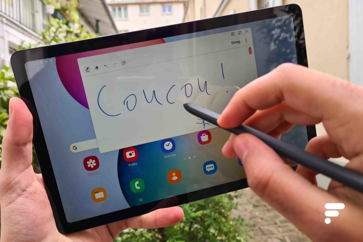 Samsung Galaxy Tab S6 Lite et son stylet