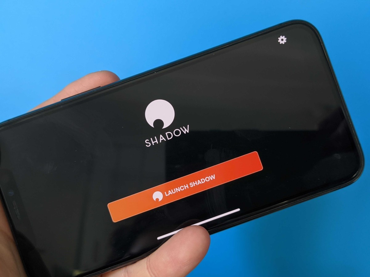 Shadow sur iOS