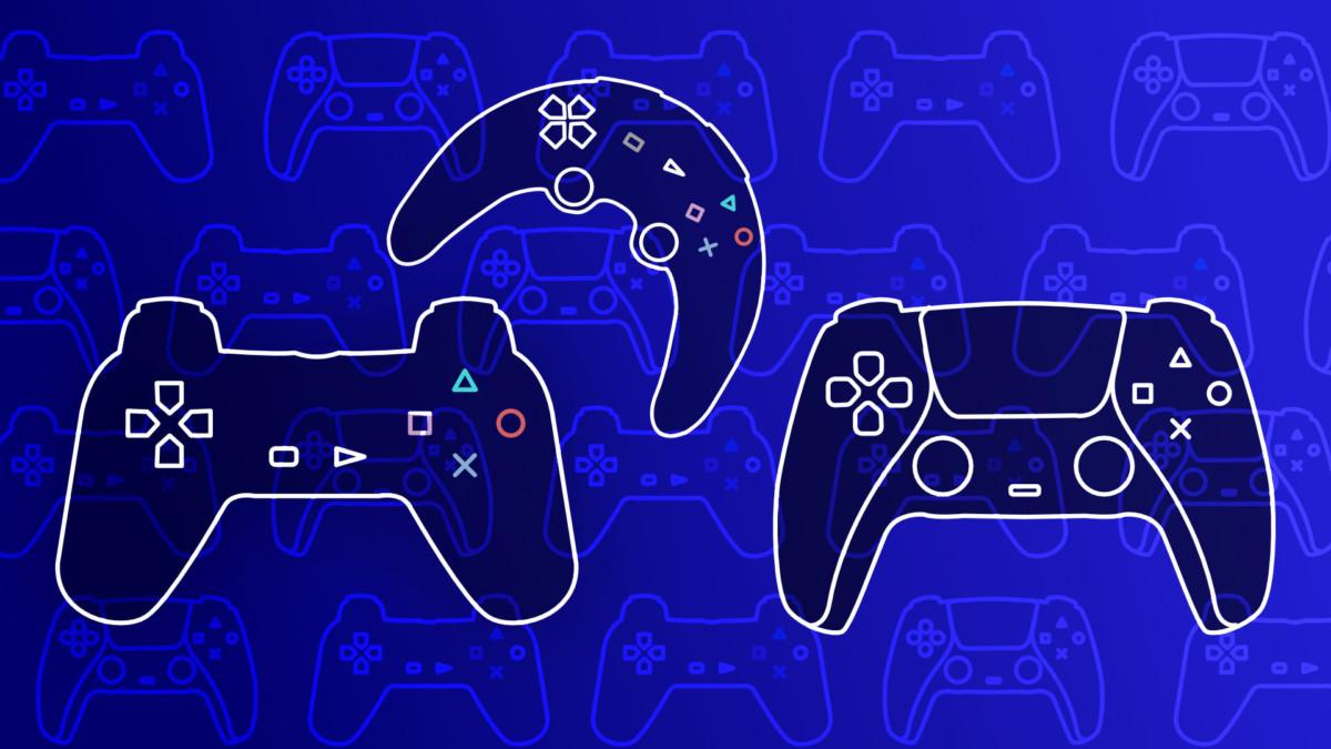 L'évolution des manettes de PlayStation