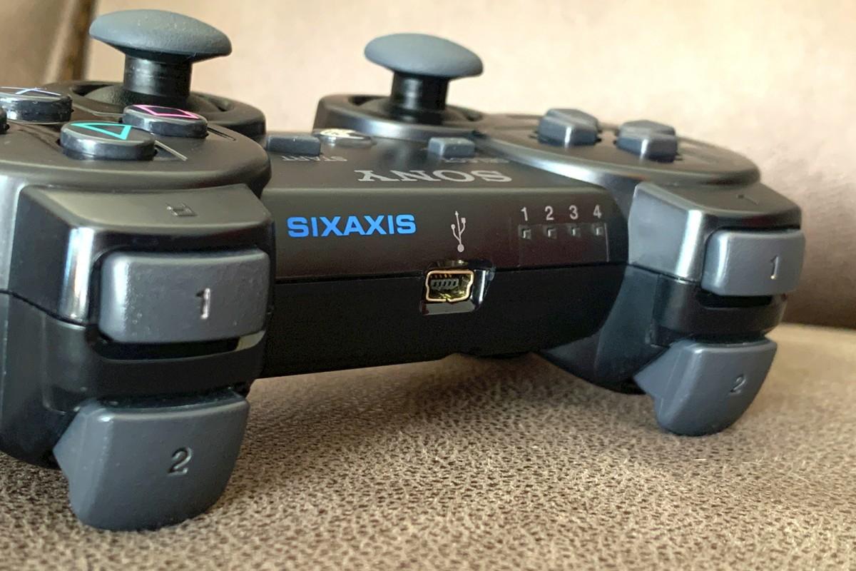 La manette Sixaxis pour la PS3