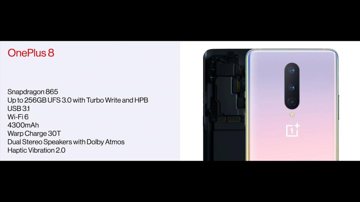 OnePlus 8, 8 Pro et Bullets Wireless Z : le récapitulatif des annonces