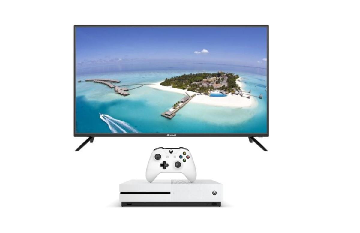 Le pack ultime du confinement : TV 100 cm et Xbox One S pour 299 euros