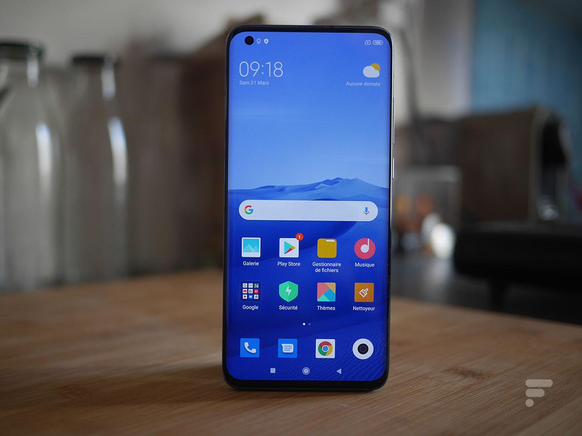 Prise en main du Xiaomi Mi 10