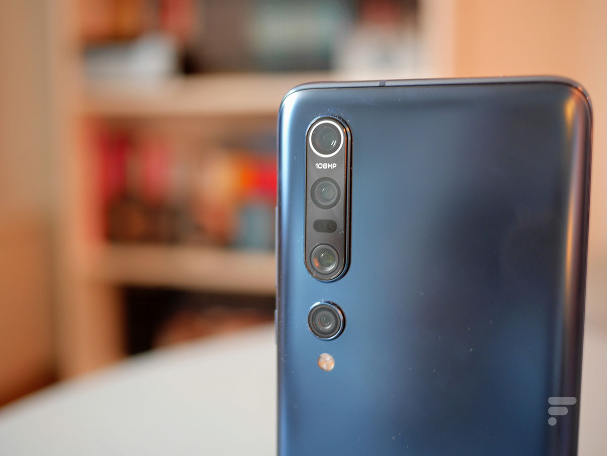 L'appareil photo du Xiaomi Mi 10 Pro