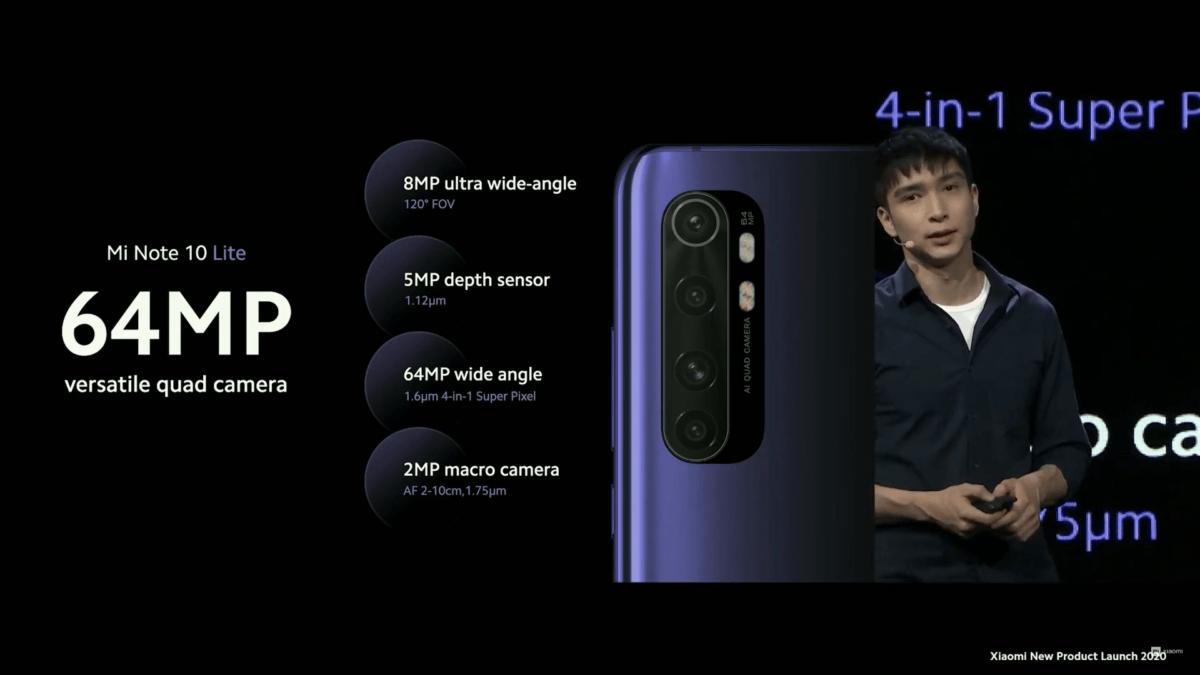 Xiaomi Mi Note 10 Lite photo