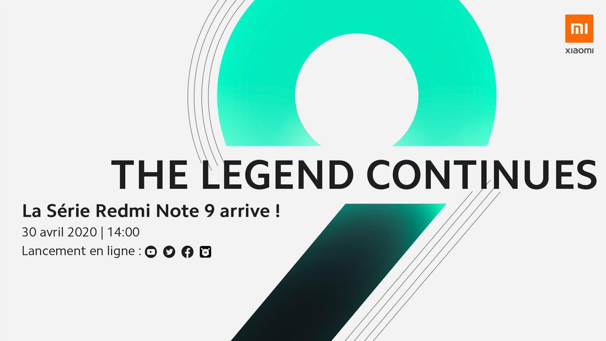Xiaomi Redmi Note 9 en France