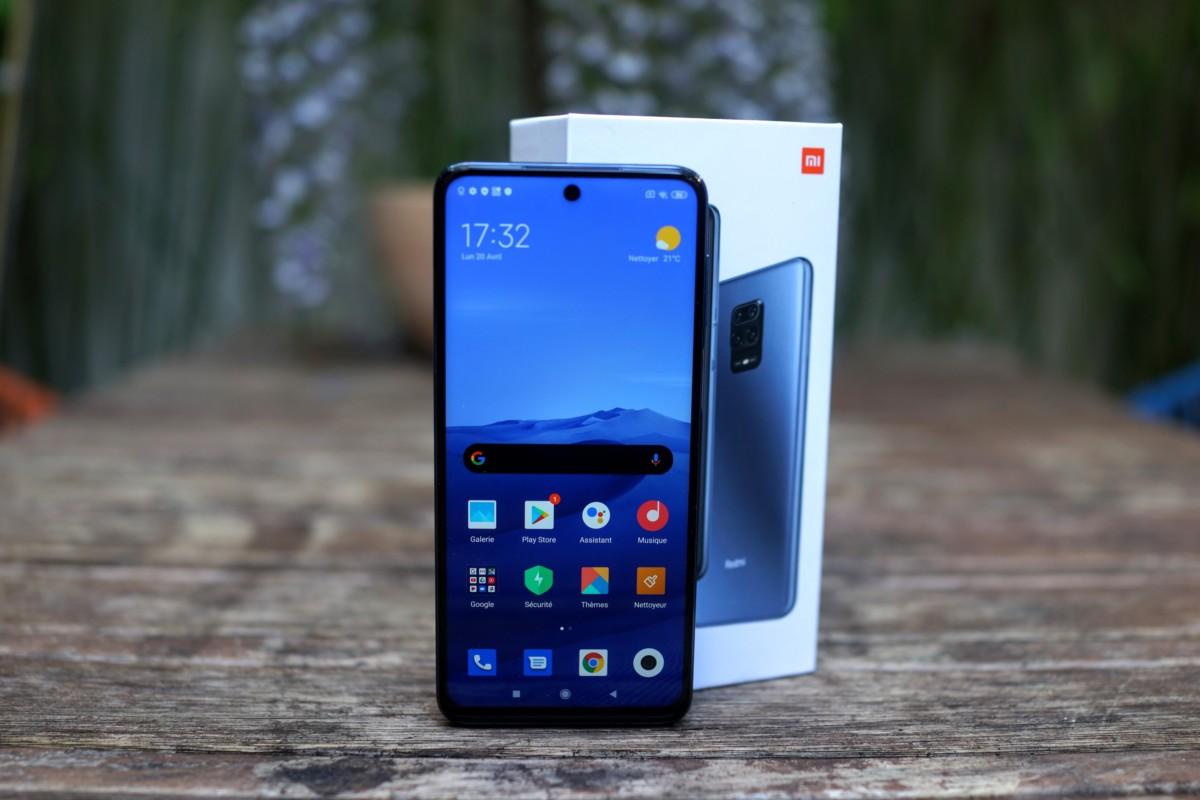 Le Xiaomi Redmi Note 9S