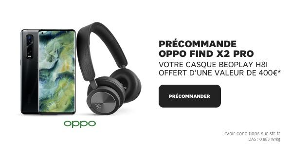 Oppo Find x Precommande