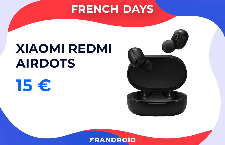 Les écouteurs sans fil Redmi AirDots ne valent qu'une bouchée de pain