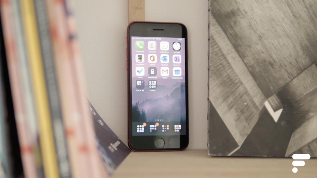 L'iPhone SE 2020 utilise toujours un écran LCD