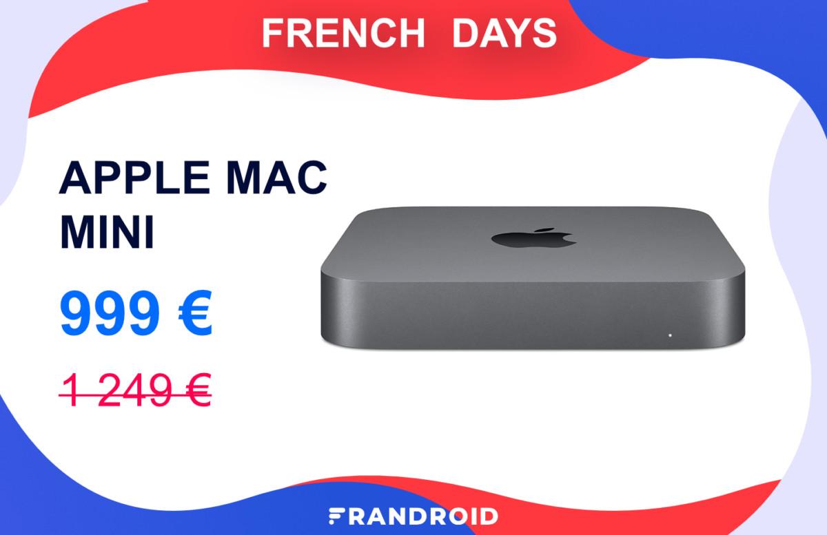 Le Mac Mini (2018) est à 999 euros pour les French Days