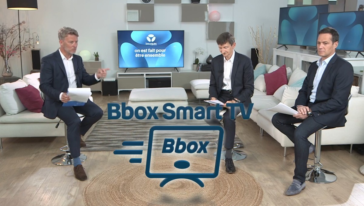 Logo de la Bbox Smart TV