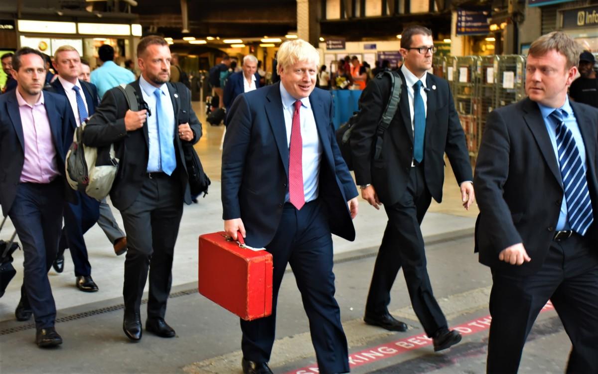 Boris Johnson, Premier ministre britannique, en 2019