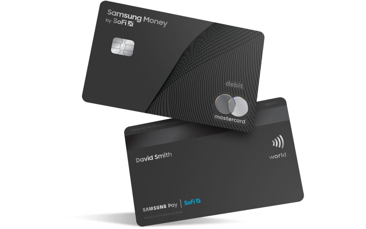 La future carte de débit Samsung, créée en collaboration avec Mastercard