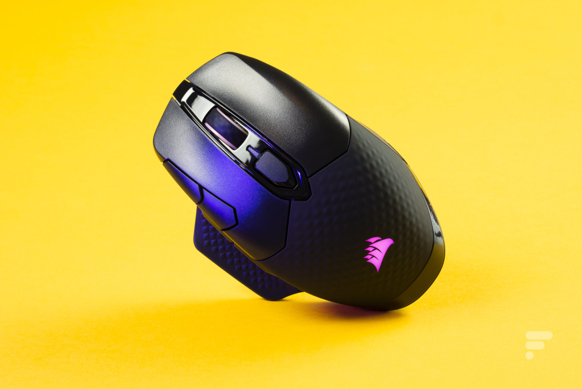 Test complet de la souris Corsair Dark Core RGB Pro