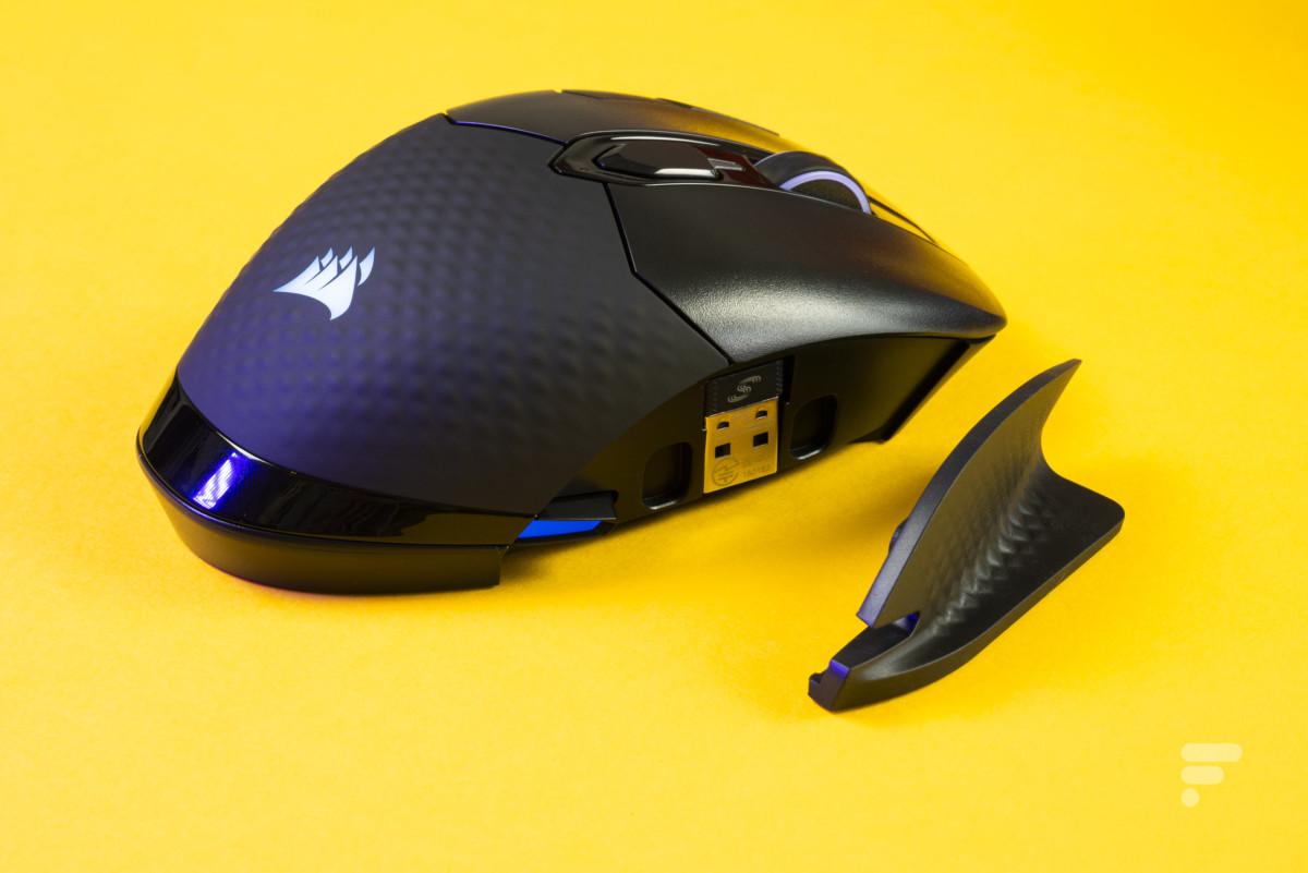 Coque amovible de la souris Corsair Dark Core RGB