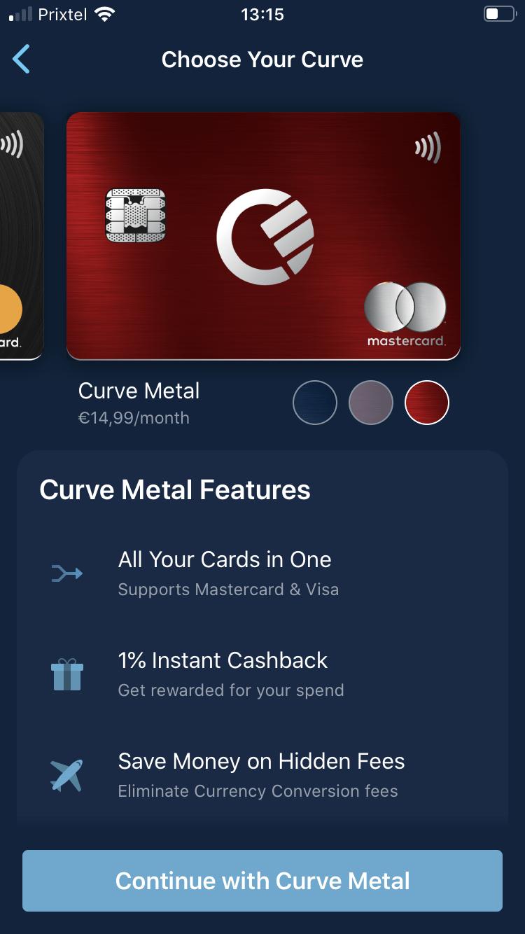 Curve Metal lancée en France: l'offre premium qui modernise vos cartes bancaires