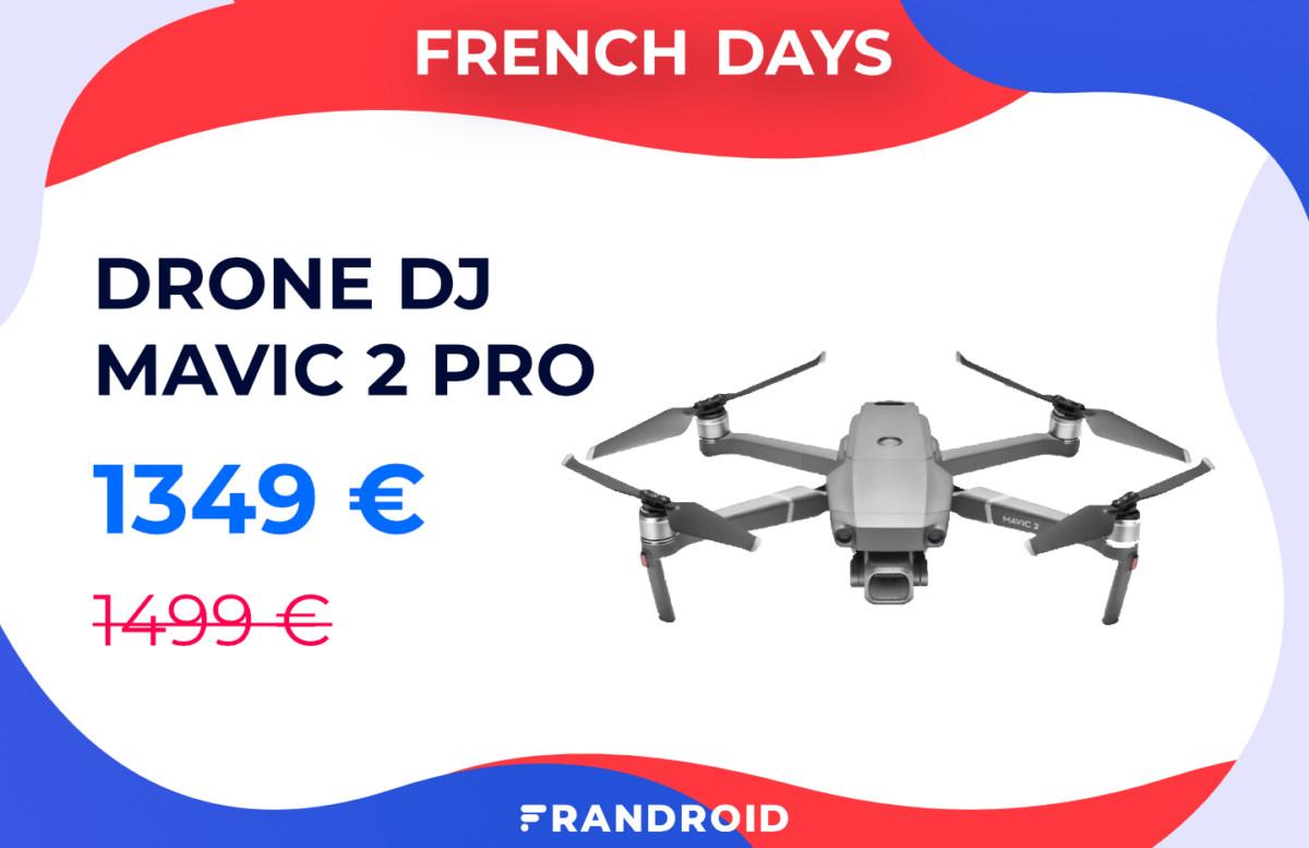Le drone DJI Mavic 2 Pro voit son prix baisser pour les French Days