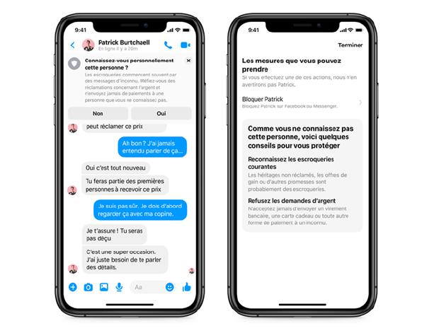 Facebook Messenger et la sécurité