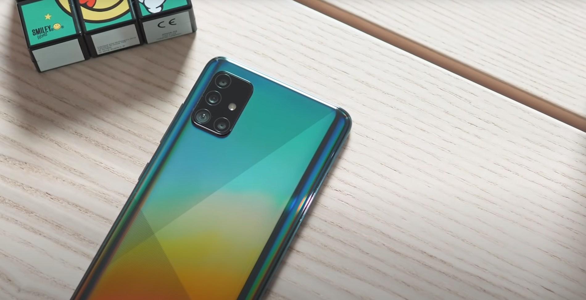 Le Galaxy A51 est à moins de 300 euros avec ou sans forfait mobile