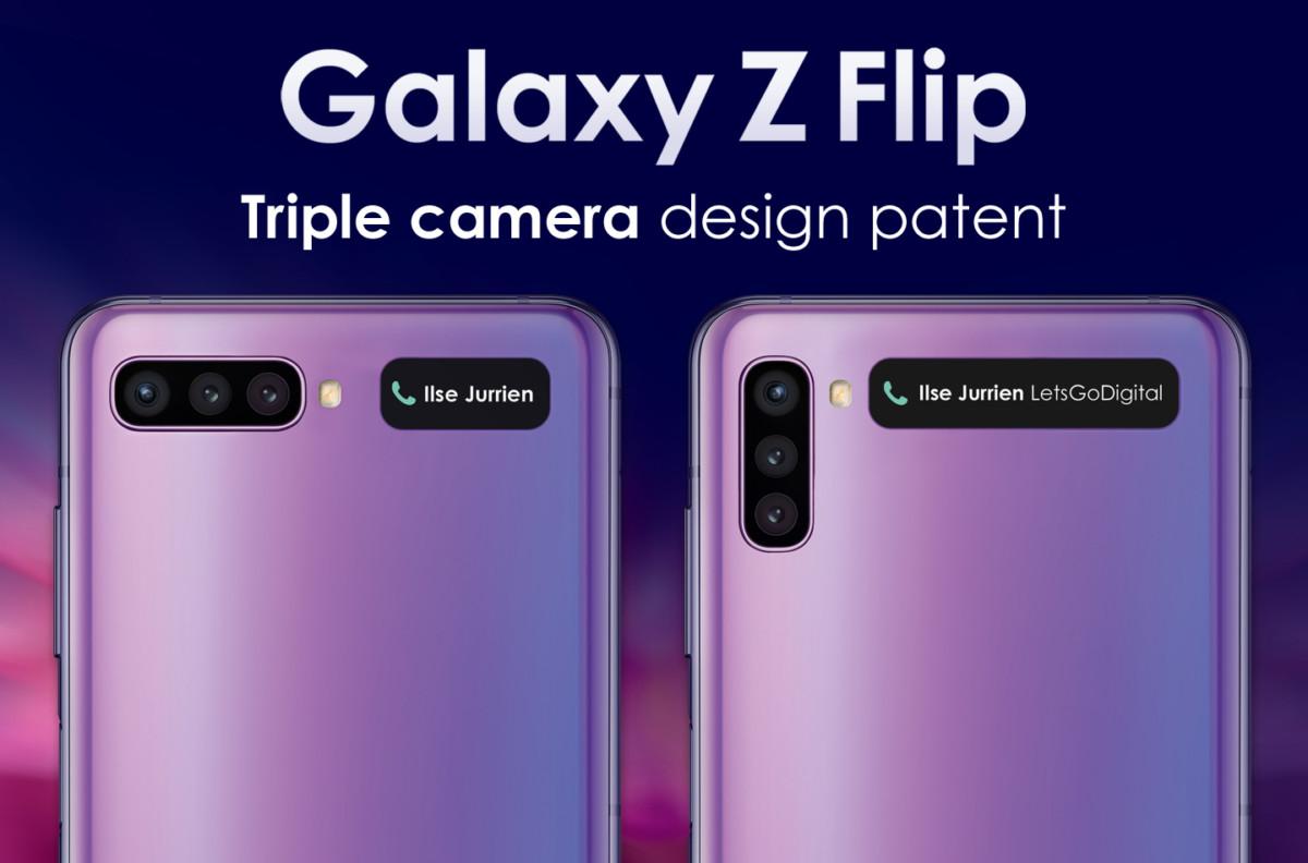 Les deux formats étudiés par Samsung pour le Galaxy Z Flip 2