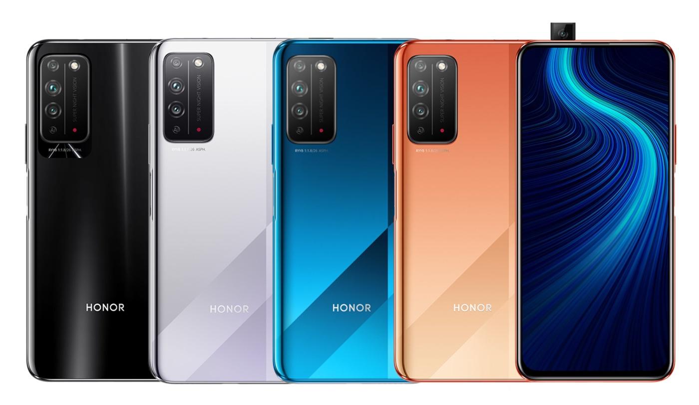 honor x10 5g fuite design
