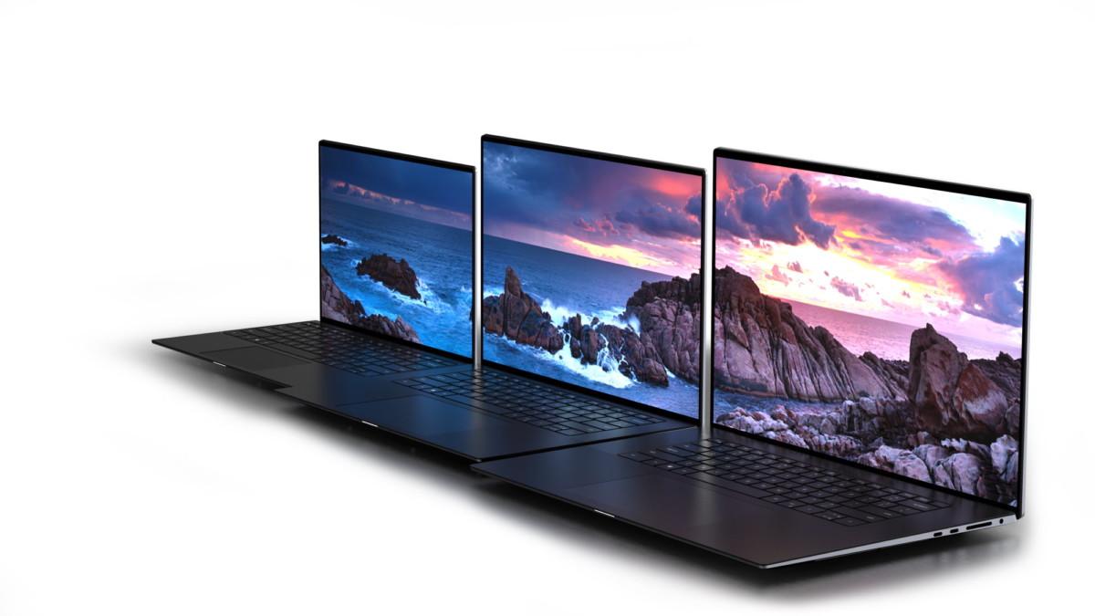 La famille au complet, Dell XPS13, XPS15 et XPS17