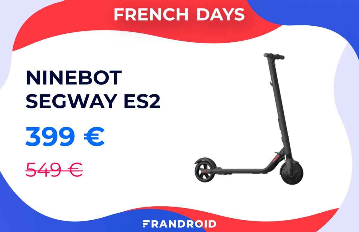 French Days : Xiaomi M365, Ninebot Segway, les trottinettes électriques sont à petit prix