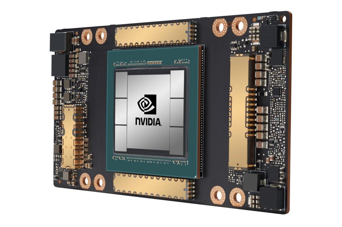 Voici la Tesla A100, la première puce de nouvelle génération de Nvidia