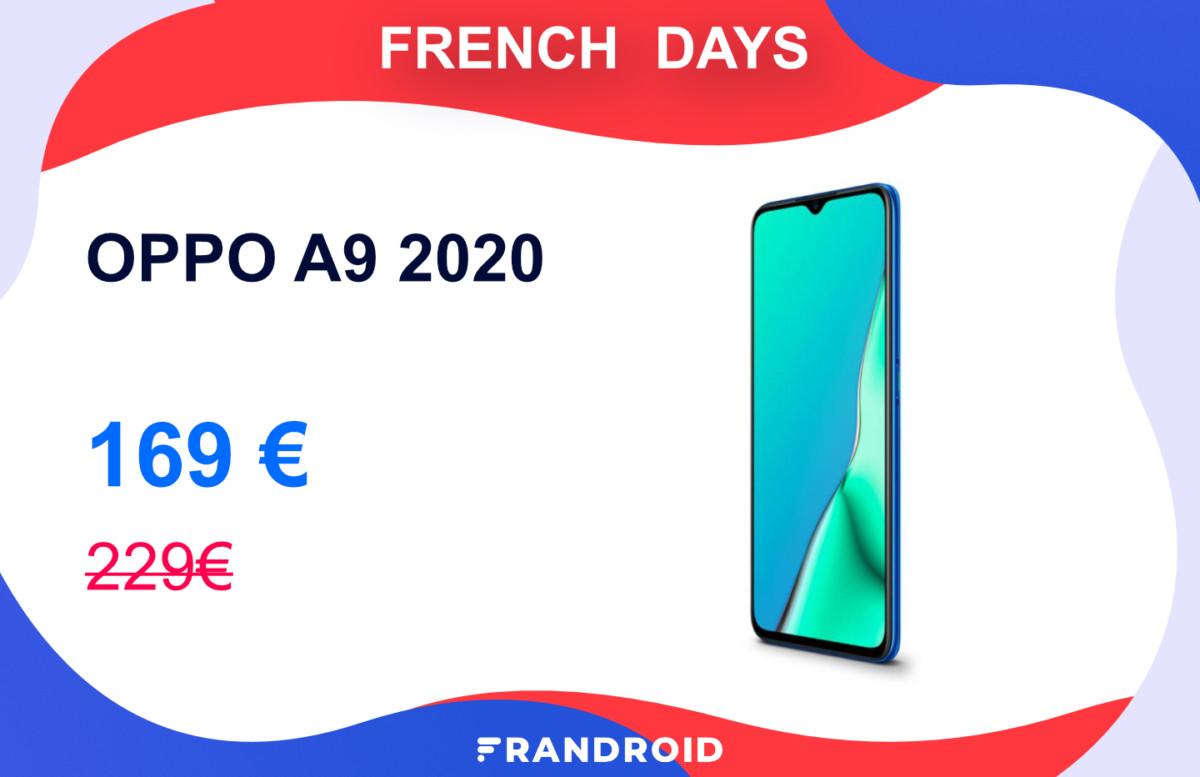 À 169 euros, l'OPPO A9 2020 devient aussi intéressant qu'un Redmi Note 8T