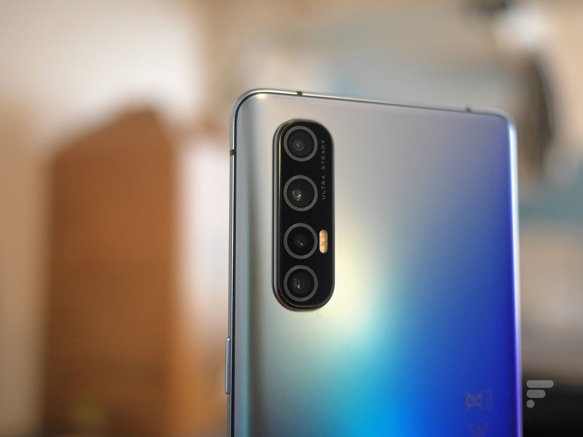 L'appareil photo de l'Oppo Find X2 Neo