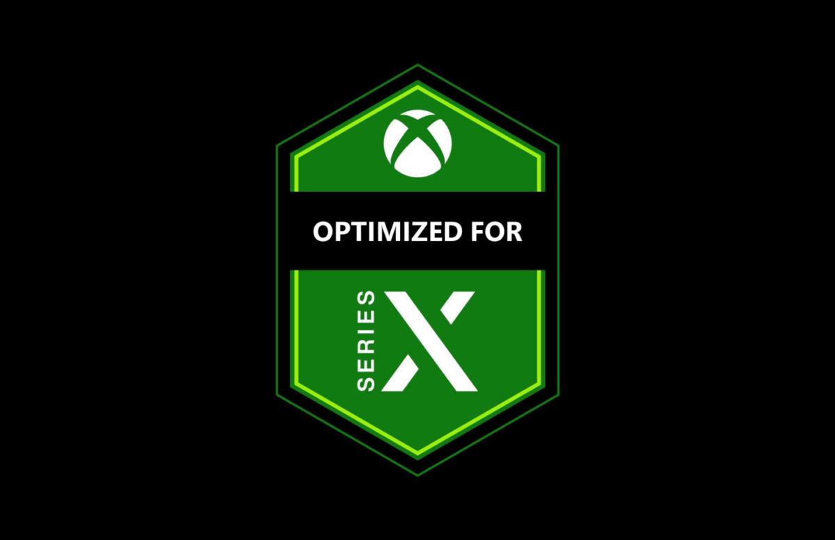 Logo des jeux optimisés pour la Xbox Series X