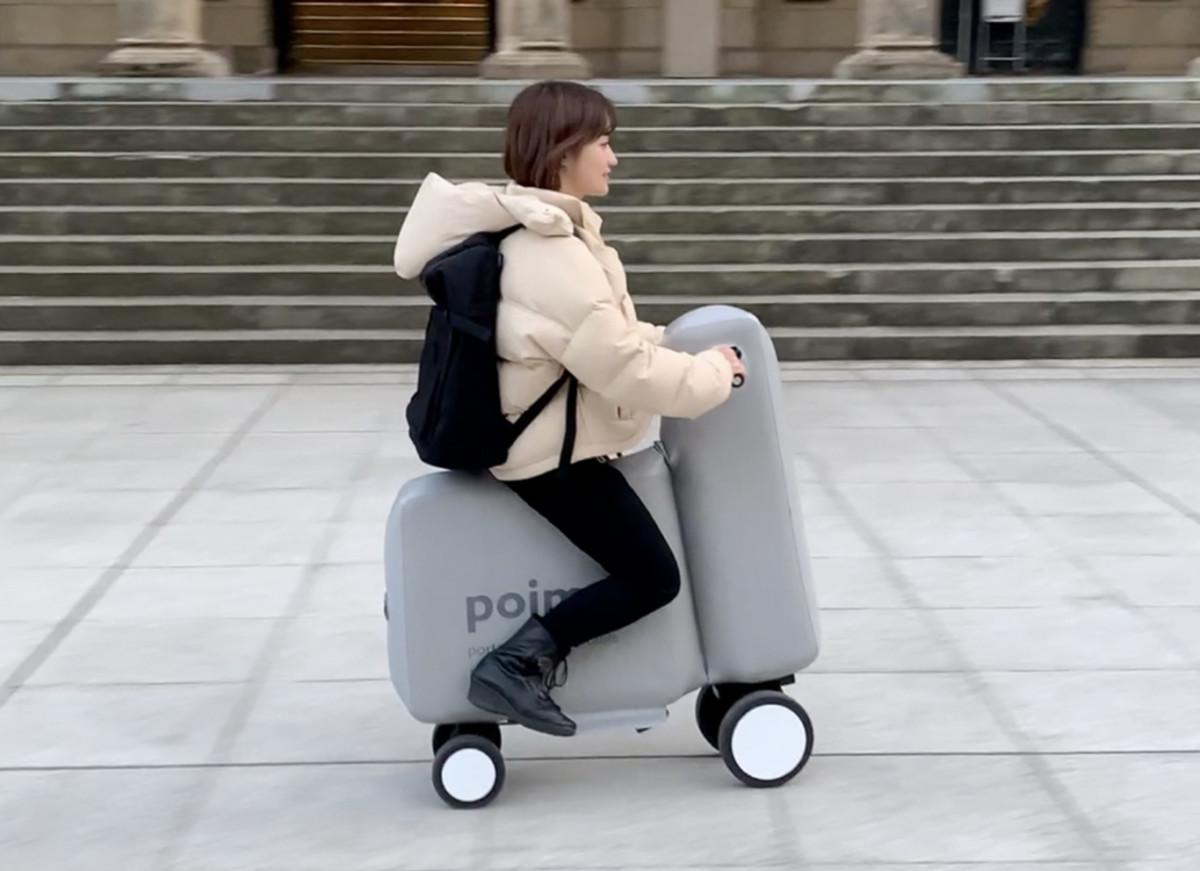Le quadricycle électrique Poima