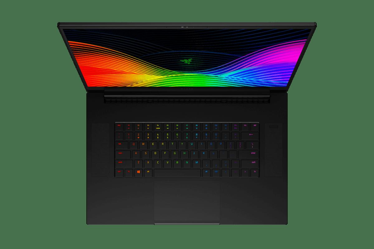 Le clavier du Blade Pro 17 (2020)