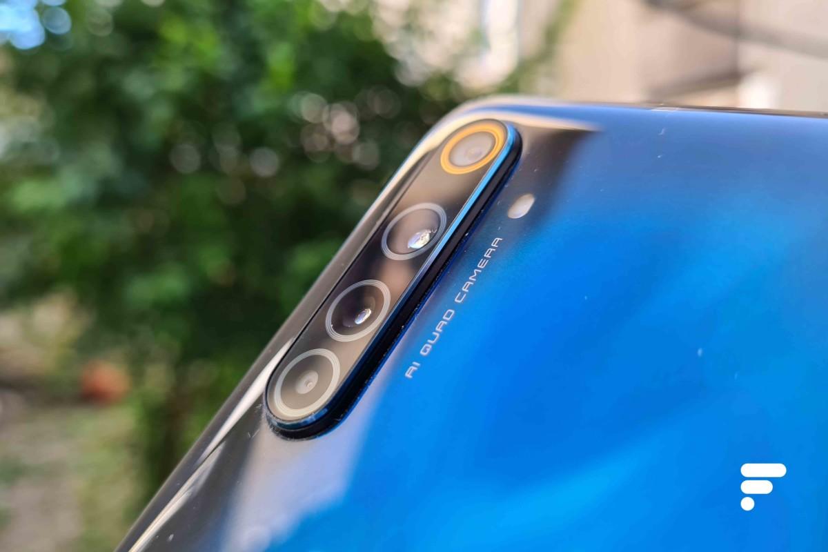 Appareil photo du Realme 6 Pro