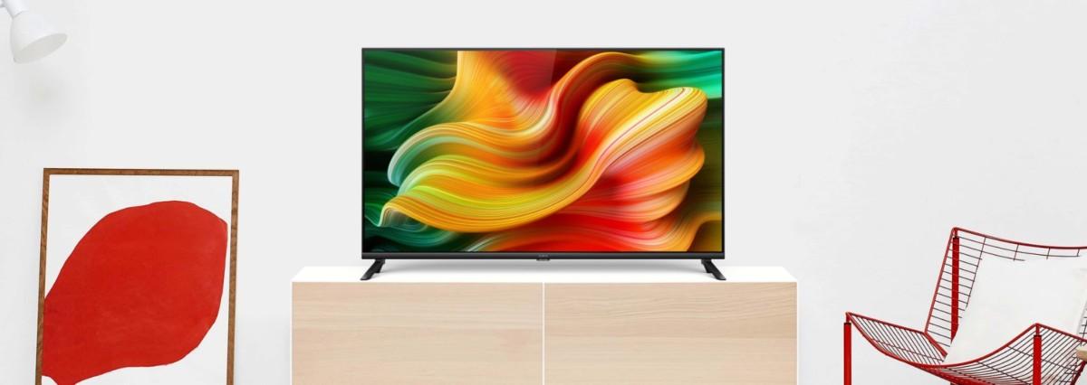 SmartTV Realme de 43pouces, sur pieds